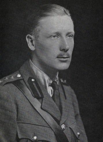 Captain Gervas Huxley MC, 1917