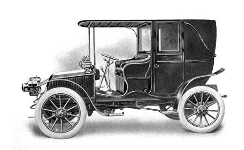 1906 Renault landaulette