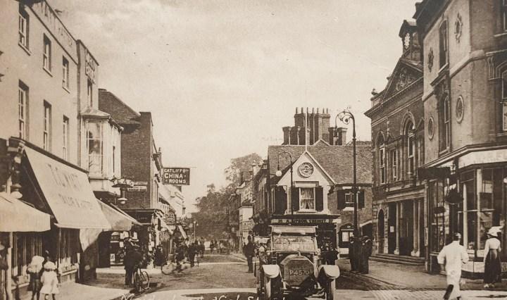 Maidenhead High Street 1910