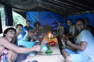 Jungle Trek, Dinner, Gunung Leuser