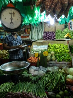 Kandy food market