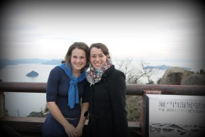 Reunited on Mt. Misen