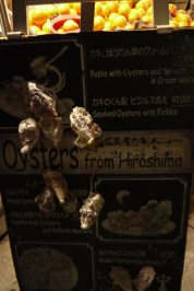Time to dine again, this time on oysters