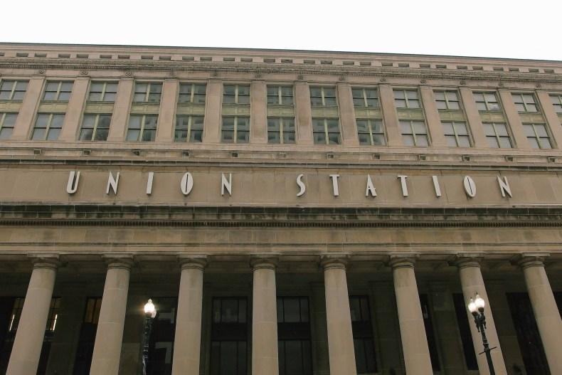 Chicago Union Station Amtrak Train