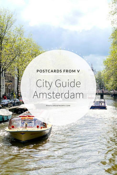 pinterest, amsterdam, city guide, postcards from v