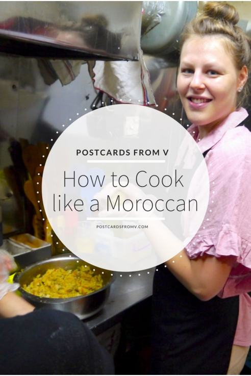 Pinterest, Cooking Class, Marrakech, Postcards from V