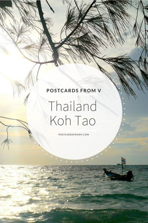 pinterest, koh tao, thailand, postcards from v