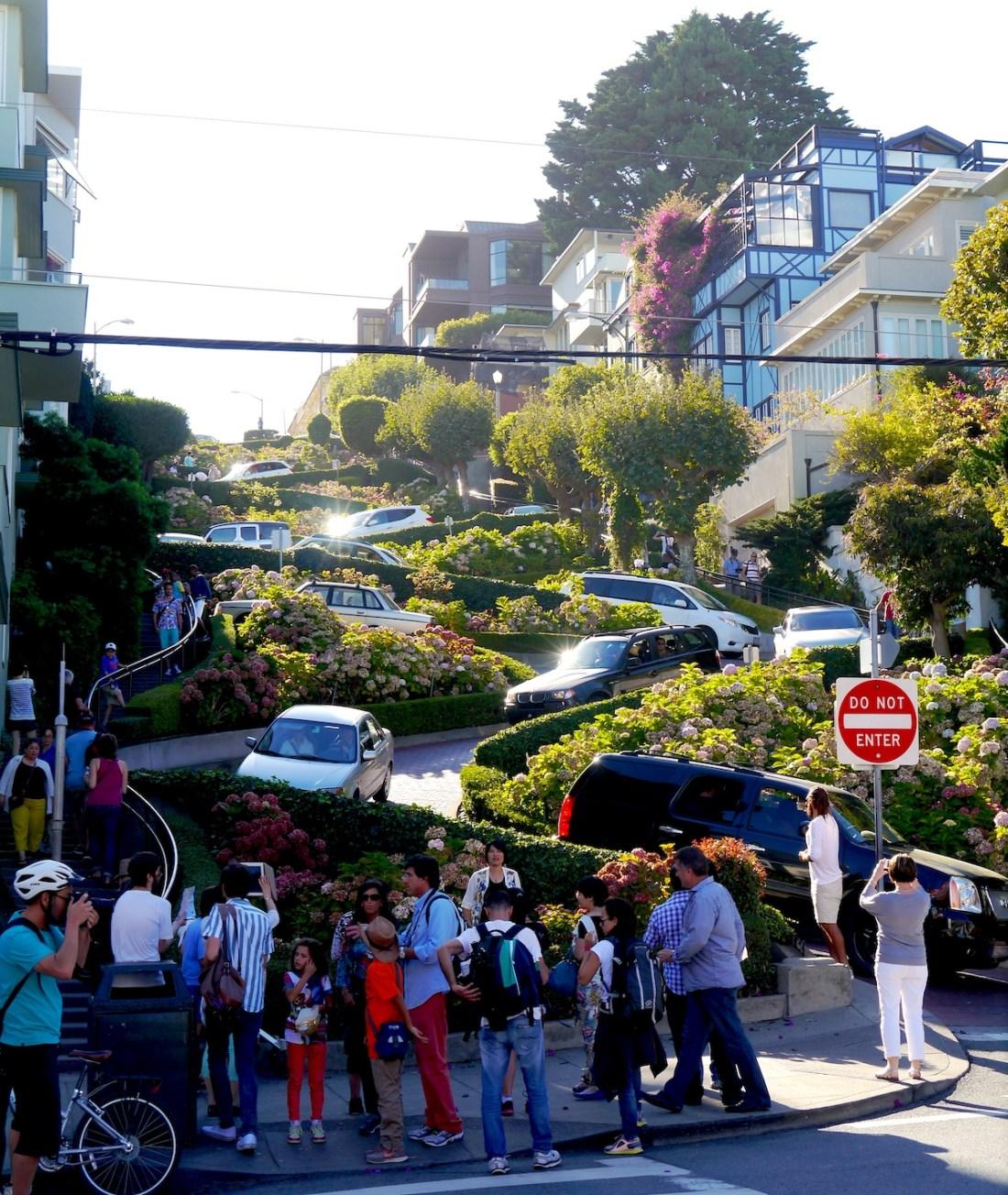 San Francisco, Travel Guide, Lombard Street
