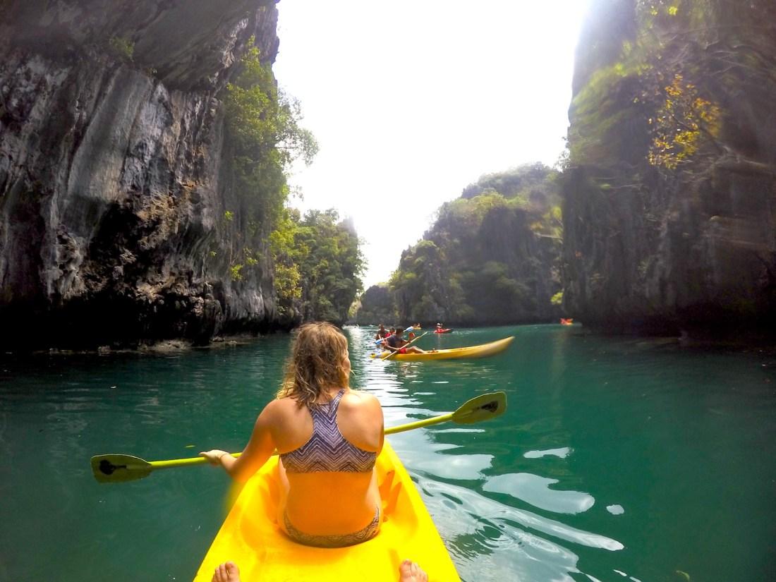 Kayaking, Lagoon