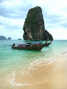 Krabi, Beach, Boats