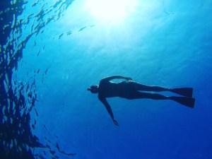 Ischia, Italy, Itinerary, Underwater, GoPro, Floating