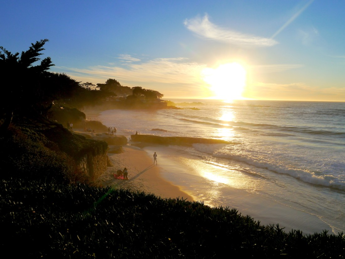 Highway 1, Roadtrip, Ocean, Sunset, Camel by the Sea