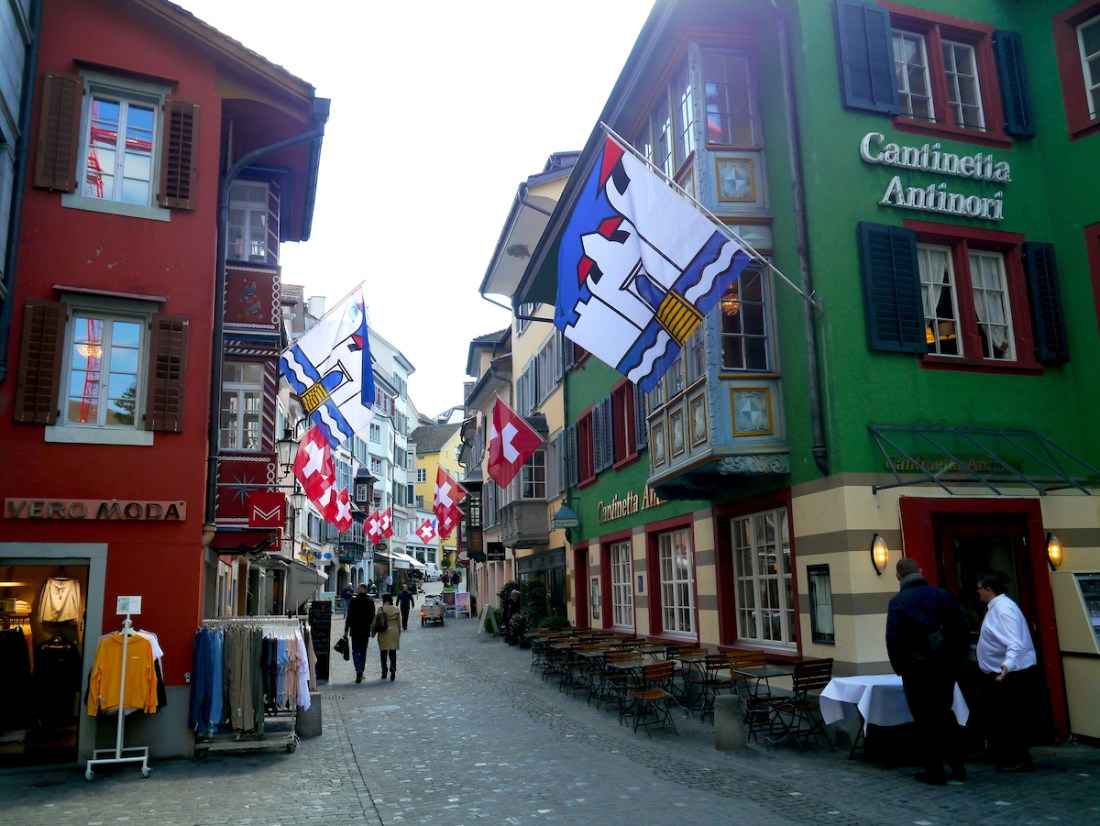 Zurich, City Guide, Old Town, Streets