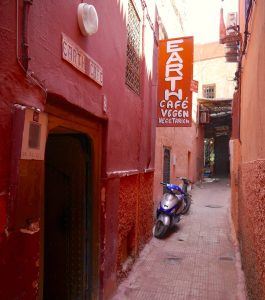 Solo Guide, Marrakech, Morocco, Food, Earth Café
