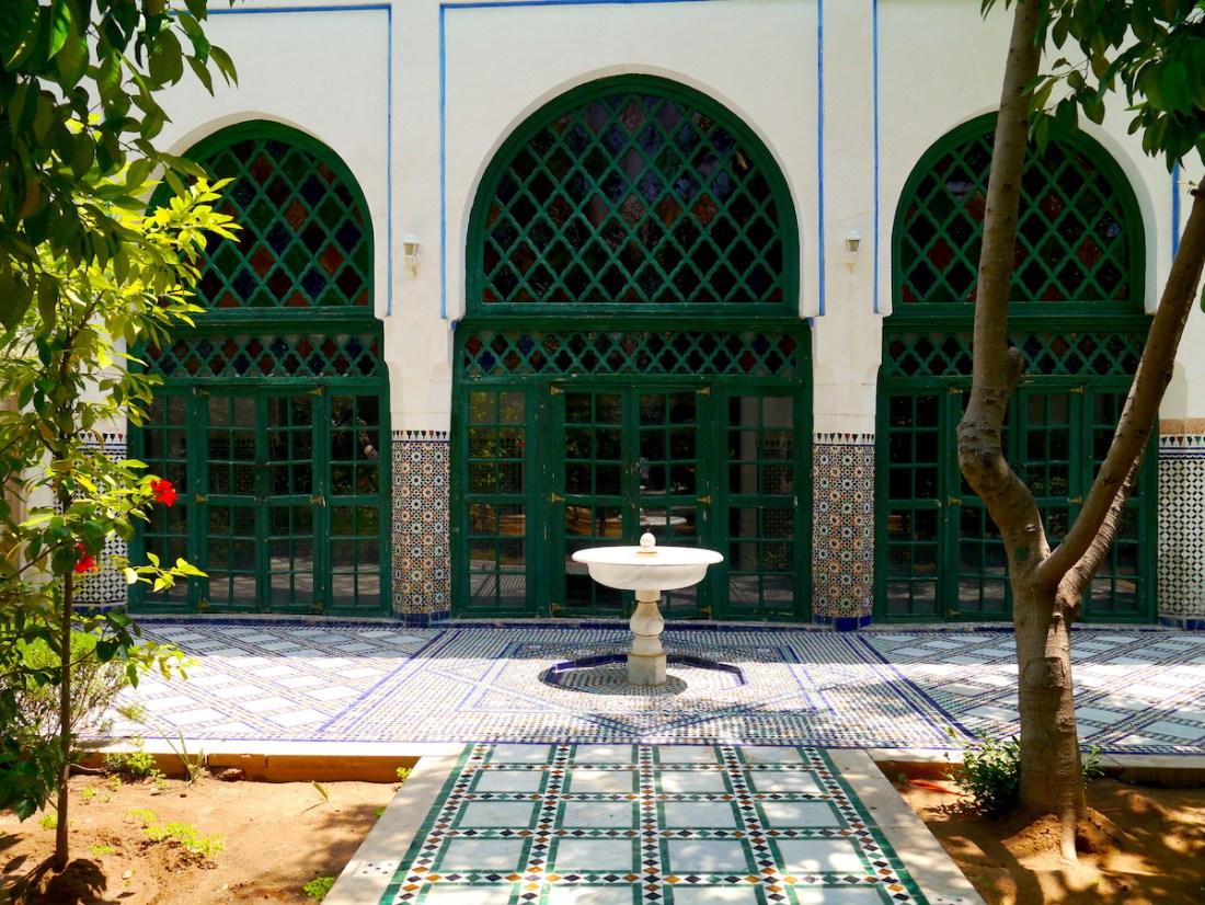 Bahia Palace, Garden, Little fountain