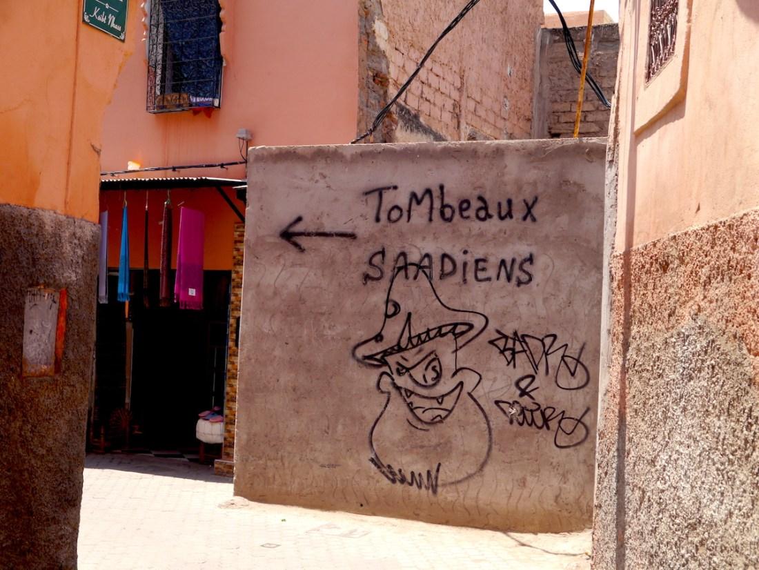 Saadian Tombs, Wall, Direction