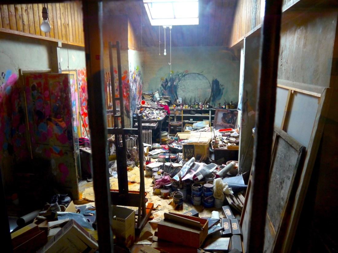 Hugh Lane Gallery, Francis Bacon, Chaotic Studio