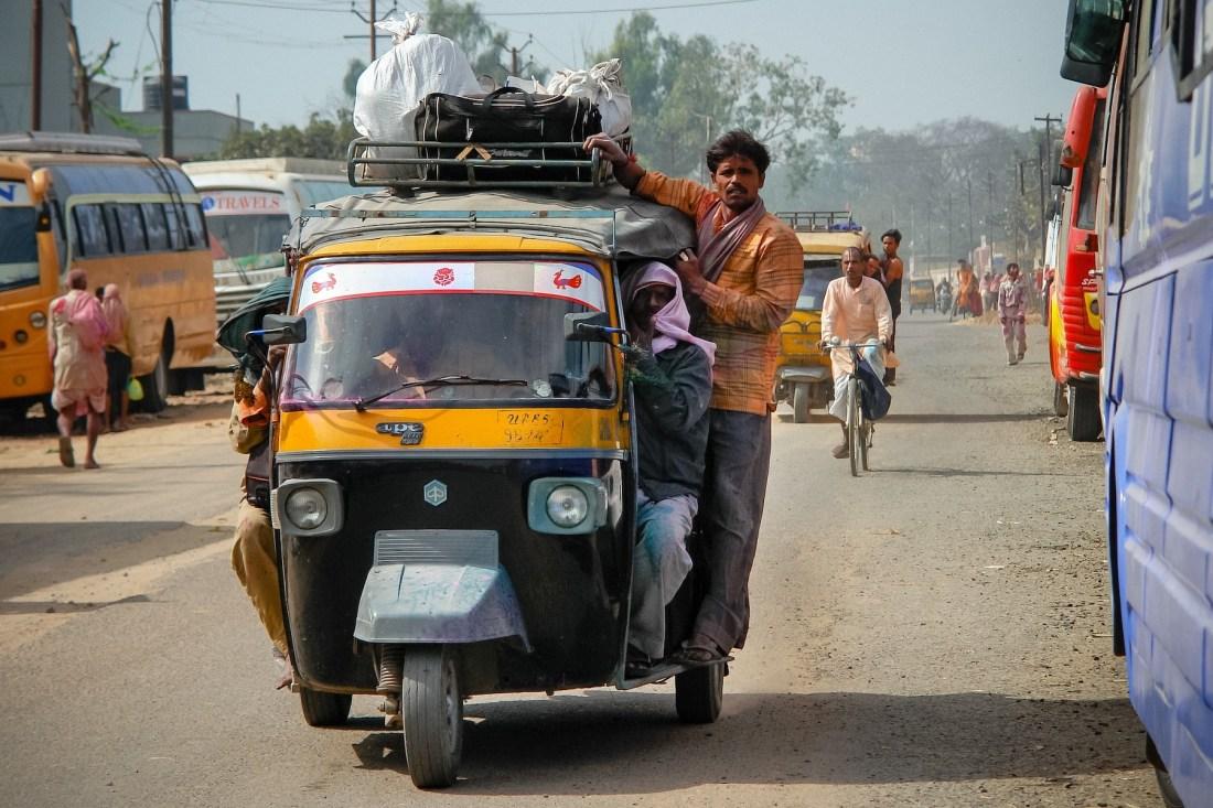 India, Rickshaw