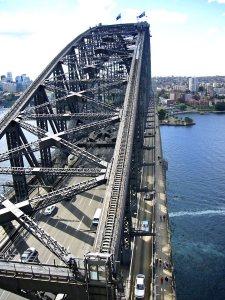 Sydney, Australia, Climbing the Harbor Bridge