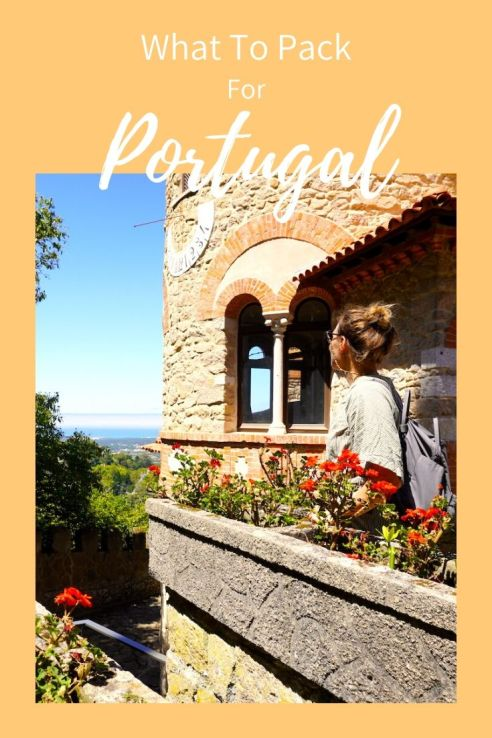 Portugal packing guide, pinterest, pin it
