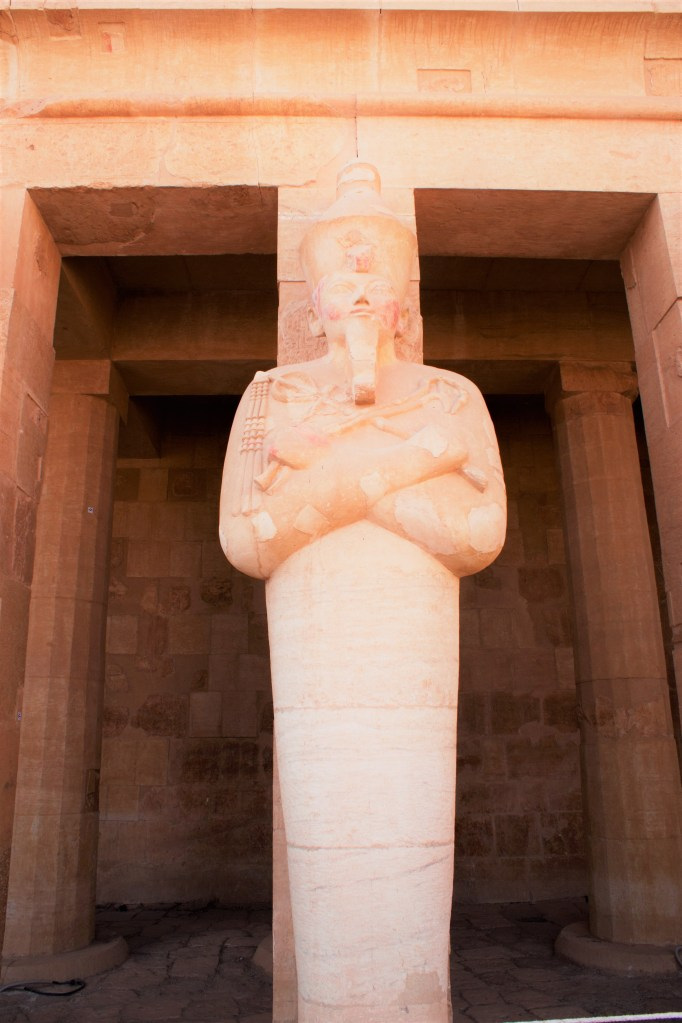 Hatshepsut was elevated to the position of God's Wife of Amun, the highest honor a woman could attain in Egypt after the position of queen and one which would become increasingly political and important.