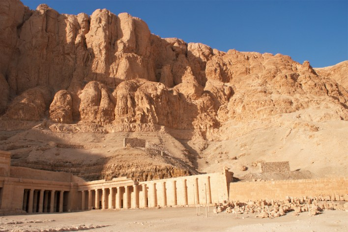 Hatshepsut became her stepson's regent, controlling the affairs of state until he came of age. In the seventh year of her regency she broke with tradition and had herself crowned pharaoh of Egypt.