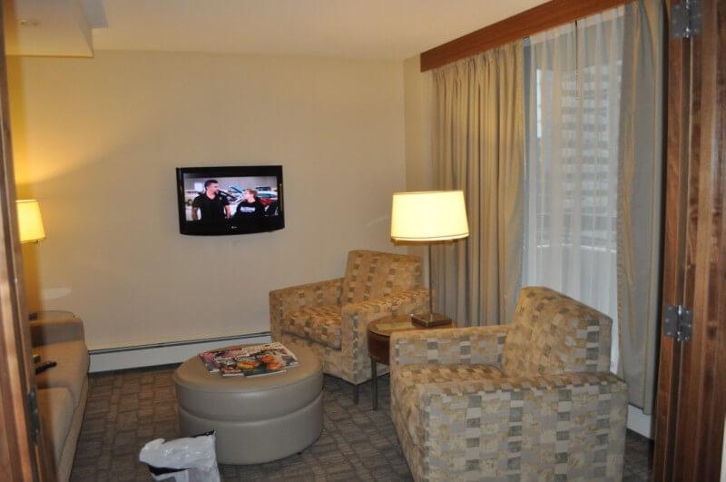 International Hotel living