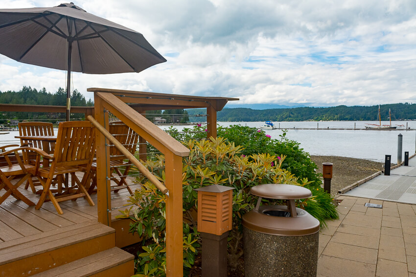 Relaxing on the Hood Canal
