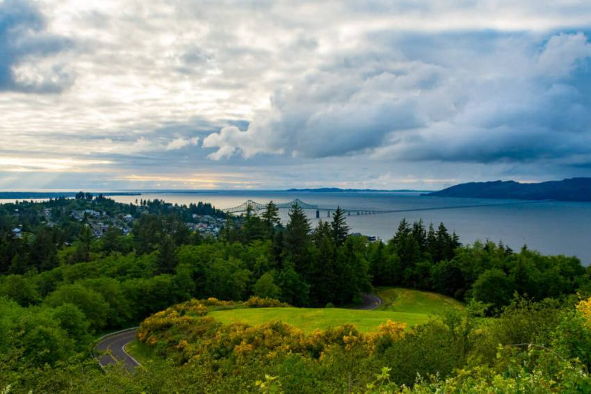 what to do in the charming town of Astoria Columbia River
