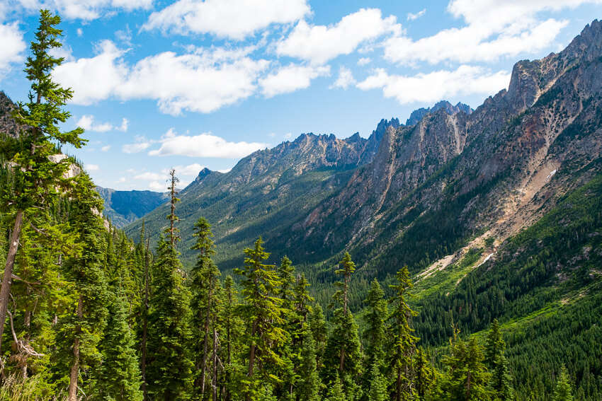 How to Spend a Weekend in Winthrop mountain range