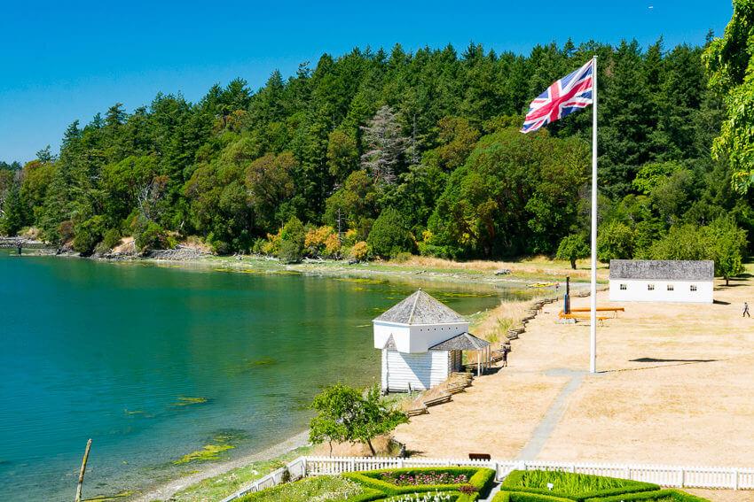 visiting san juan island english camp