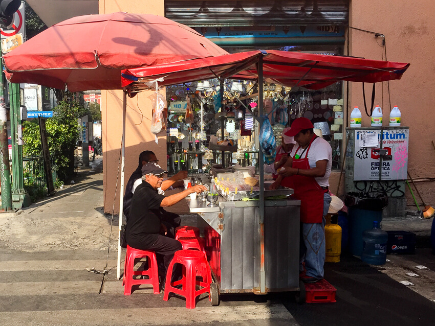 layover mexico city street food