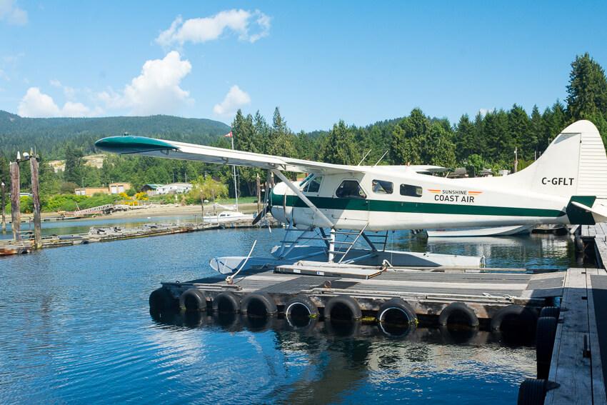 vancouver island seaplane sunshine coast