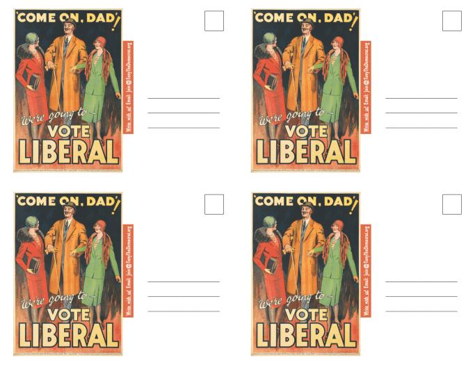 Vote Liberal