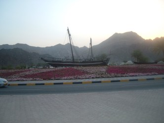 The traditional Dhow