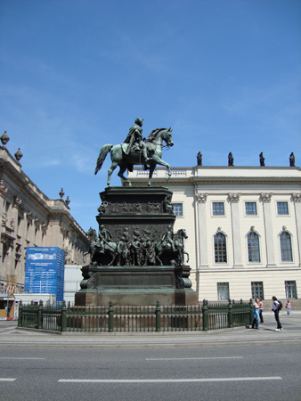 Frederick ?? - He was the one who built Humboldt University and the Catholic church.