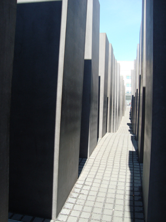 The Memorial is a lot bigger than you initially think it is.