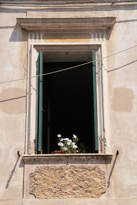 One of many classic photos of windows that tourists take in Europe.