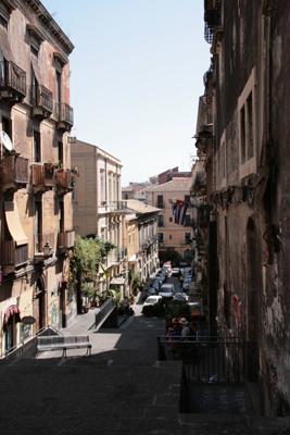 Catanian streetscape.