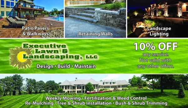 landscaping marketing postcards