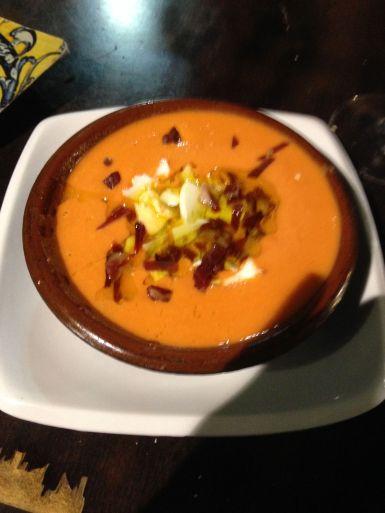 My staple diet through Andalucia - Salmorejo