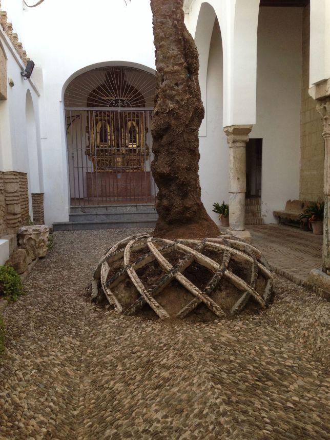 Courtyard art