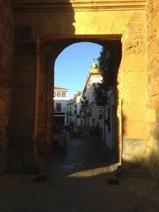 Through the Puerta de Almodovar