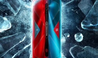 5G RedMagic 5S gaming phone with 144Hz refresh rate is now available globally