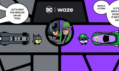 Batman and Robin Waze hero