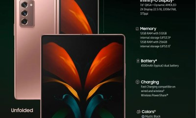 Samsung Galaxy Z Fold 2 vs Galaxy Fold specs and differences