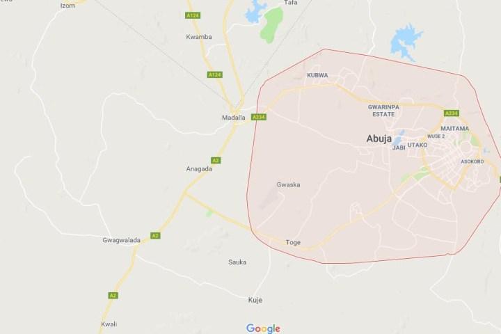 Map of Abuja City