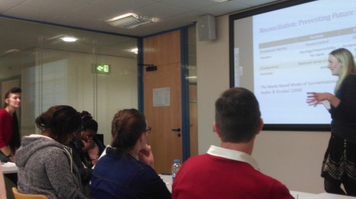 Laura Blackie at Nottingham Trent University Postcolonial Speakers Series