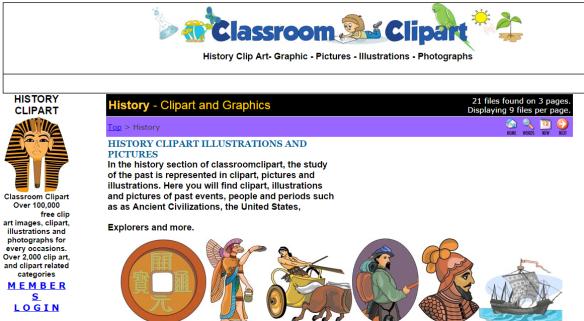 46 - Classroom Clipart