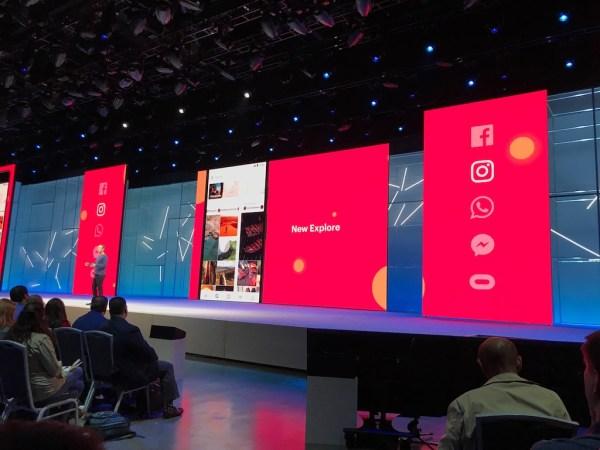 Facebook conferencia Mark zuckerberg